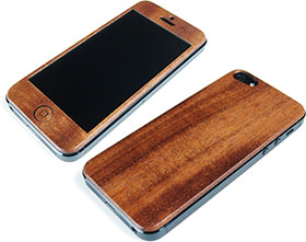 LIFE Design Wood Cover for iPhone 5
