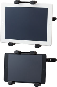SoftBank SELECTION iPad用 カーホルダー(後部座席タイプ)