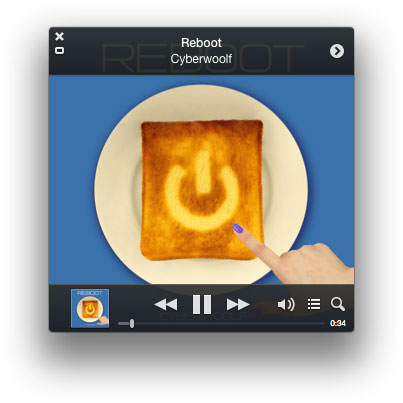 iTunes 11.0.3 ミニプレーヤー