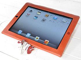 かじりりんご付き♪ iPad Retinaディスプレイモデル/第3世代/第2世代ケース
