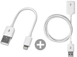 Kenburg LightLinez Short USB to Lightning Cable(12cm+100cm)