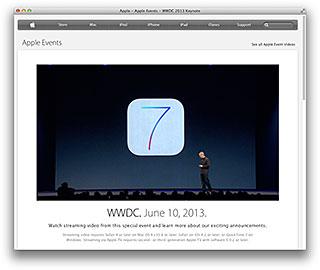 Apple - Apple Events - WWDC 2013 Keynote