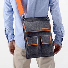 iPadショルダーバッグ 収納ポケット(EEA-YW0934)