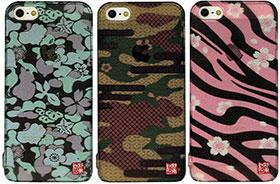和彩美「和隠(わがくれ)」:iPhone 5用堅装飾カバー:透し