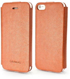 PRECISION by GRAMAS Leather Case for iPhone 5 213 LC213