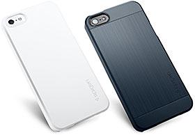 SPIGEN SGP iPhone 5 ケース スリム ウルトラ フィット/ウルトラ フィットS プレミアム マット ハード ケース ECO-Friendly Packaging