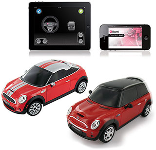Bluetooth Controlled Car Mini Cooper S/Coupé