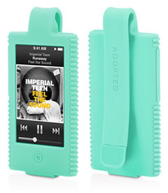ADOPTED Corduroy Clip Case for iPod nano 第7世代