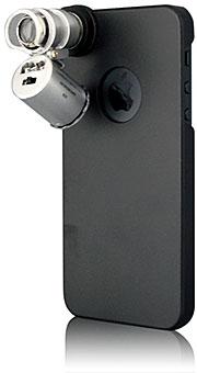 Microscope 60x Case for iPhone 5(BI-IPVSCOPE/BK)
