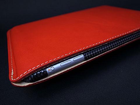 バズハウスデザイン ハンドメイドレザーケース for iPad mini