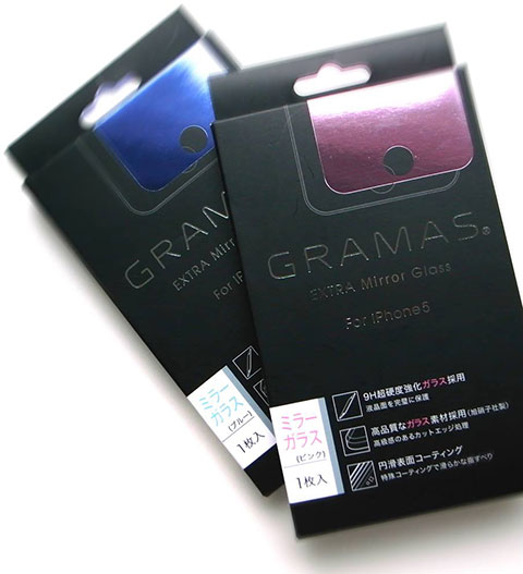GRAMAS EXTRA Mirror Glass for iPhone 5