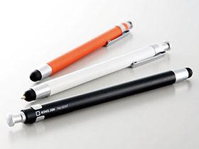 キングジム タッチペン&ボールペン(ノック式)