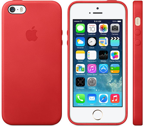 Apple iPhone 5s Case (PRODUCT) RED