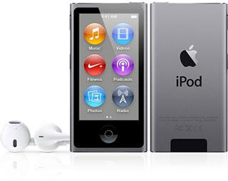 iPod nano スペースグレイ