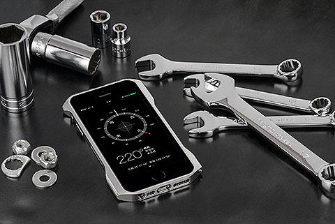 Deff CLEAVE ALUMINUM BUMPER ZERO for iPhone 5/5s