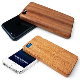 LIFE iPhone 5c/5s用木製ケース