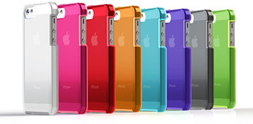 TUNEWEAR TUNESHELL RubberFrame for iPhone 5s/5