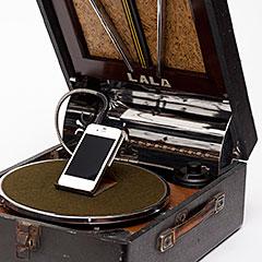 蓄音機スピーカー LALA P-21