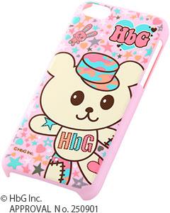 iPhone 5c用HbG・キャラクター・シェルジャケット(RT-HP6B)