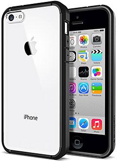 SPIGEN SGP iPhone 5cケース ウルトラ・ハイブリッド