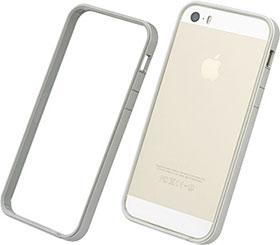 パワーサポート フラットバンパーセット for iPhone 5S/5