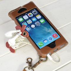 JACA JACA iPhone 5/5s/5c オイルレザーケース