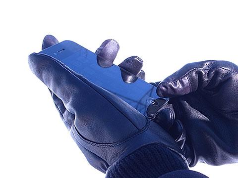 iPhone対応手袋