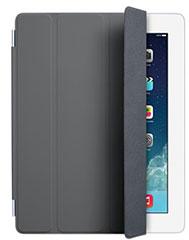 iPad Smart Cover - ポリウレタン製 - ダークグレー