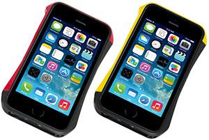 CLEAVE ALUMINUM BUMPER AERO for iPhone 5/5s ヨーロピアン/ブラックカラー