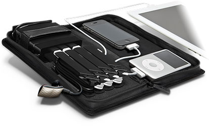 AViiQ Portable Charging Station with Cable Rack System Nylon Series