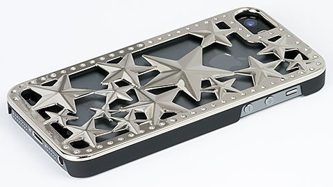 Deff Metal case Glitter Star for iPhone 5/5s