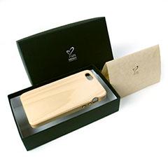 LIFE iPhone 5/5s専用木製ケース(もみの木)