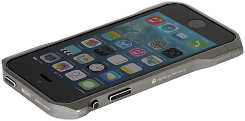 CLEAVE PREMIUM ALUMINUM BUMPER ZERO for iPhone 5/5s プレミアム グレー
