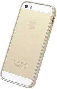Power Support iPhone 5/5s フラットバンパー and アンチグレアフィルム