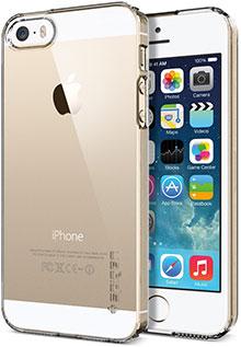 Spigen iPhone 5/5sケース ウルトラ・シン・エア クリスタル・シェル