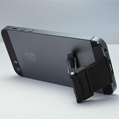 Poddities Click-Stand for iPhone 5