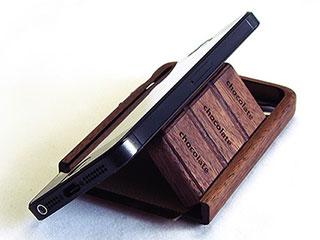 iPhone5/5s共用 チョコホ~Wood~