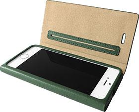 GRAMAS iPhone 5/5s対応 1枚革 本革 レザーケース LC614