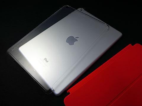 TUNEWEAR eggshell for iPad Air/iPad mini (Retina/第1世代) fits Smart Cover