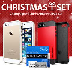 Spigen iPhone 5s/5 ケース クリスマス エディション レッドVer.
