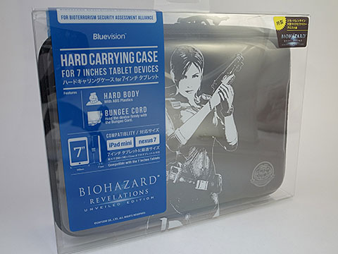 BIOHAZARD REVELATIONS UNVEILED EDITION Hard Carrying Case