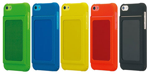Bluevision OsaifuSlim for iPhone 5c