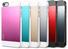 Spigen iPhone 5/5sケース サターン