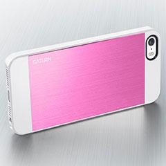 Spigen iPhone 5/5sケース サターン メタル・ピンク