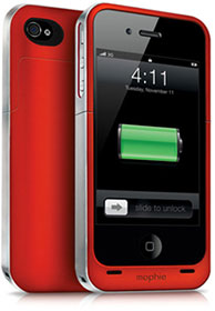 Juice Pack Air for iPhone 4S/4 - (PRODUCT) RED