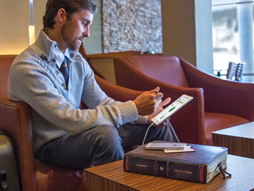 Twelve South BookBook Travel Journal