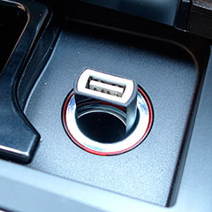 USB Car Charger Massive Power・シガーソケット USB