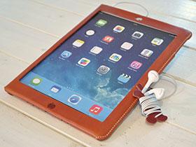 かじりりんご付き♪iPad Air オイルレザーケース」