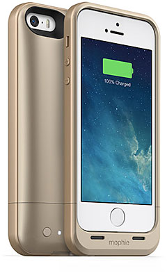 mophie juice pack air for iPhone 5s/5 ゴールド