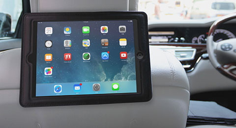 TUNEWEAR HEADREST MOUNT for iPad Air